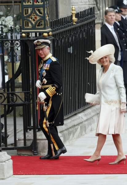 Le prince Charles et son épouse  Camilla font leur entrée à Westminster