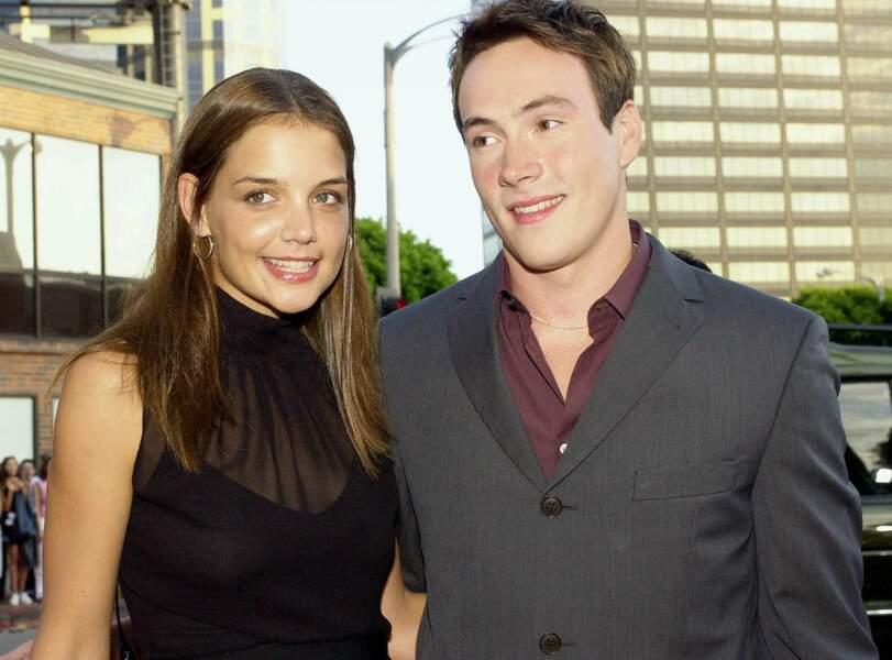 Avec son chéri Chris Klein
