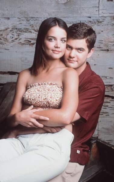 Katie Holmes et son partenaire Joshua Jackson