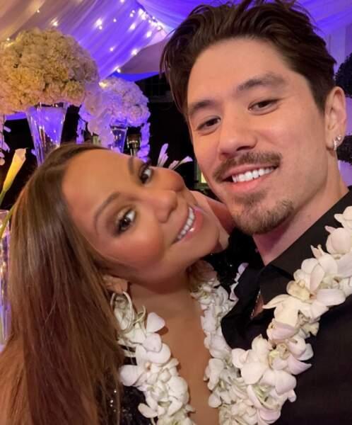 Et Mariah Carey et son boyfriend de longue date, le danseur Bryan Tanaka.