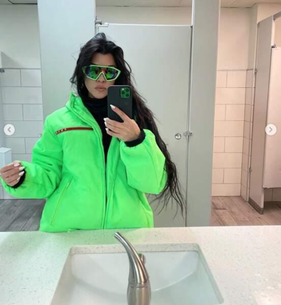 Kourtney Kardashian avait peur de passer inaperçue. Qu'elle se rassure !
