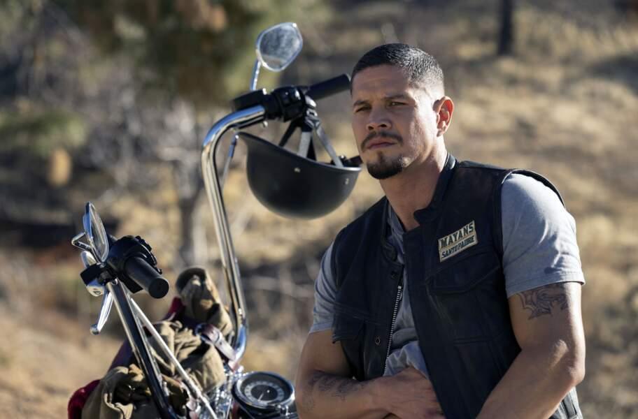 EZ Reyes est le héros de Mayans M.C., le spin-off de Sons of Anarchy