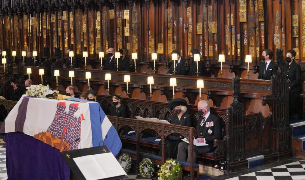 Le cercueil du prince Philip au coeur de la chapelle