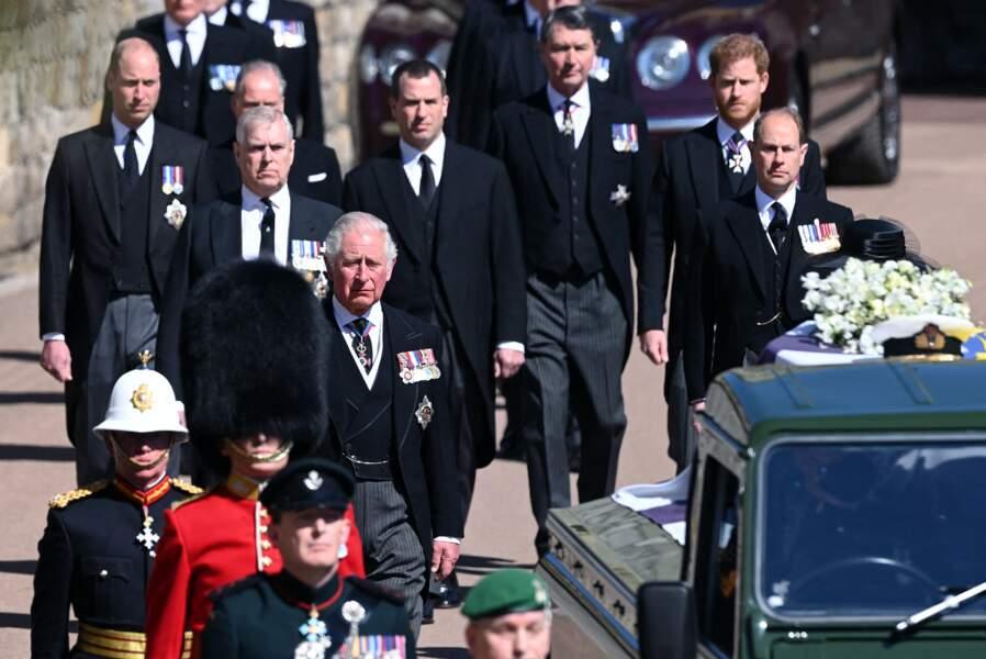 Le prince Charles au premier rang