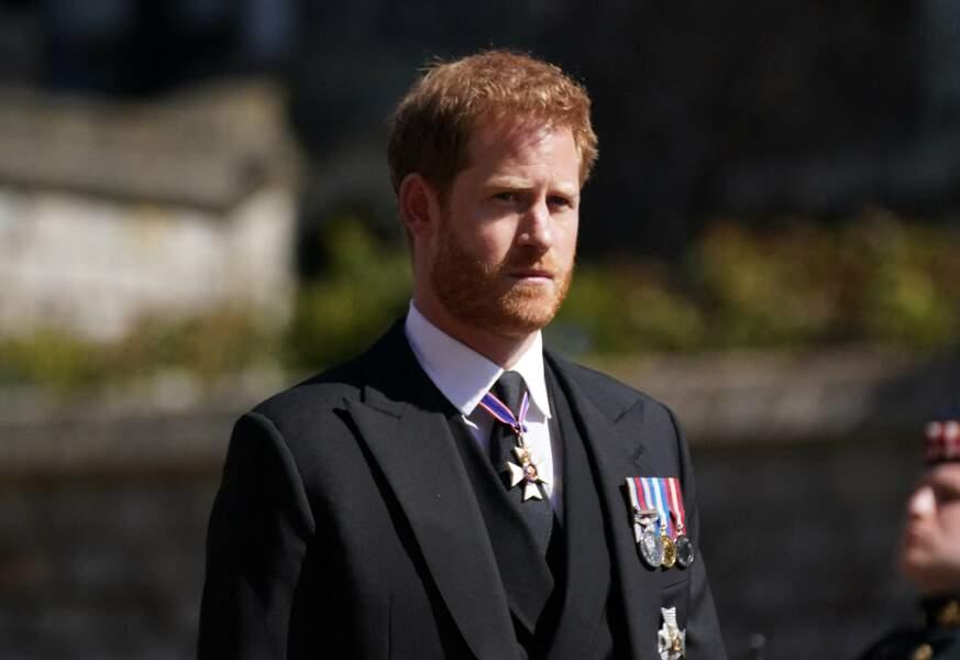 Le prince Harry a fait le déplacement sans sa femme Meghan Markle