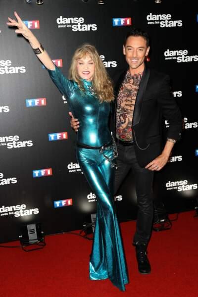 Maxime Dereymez, son acolyte de Danse avec les Stars, en 2017...