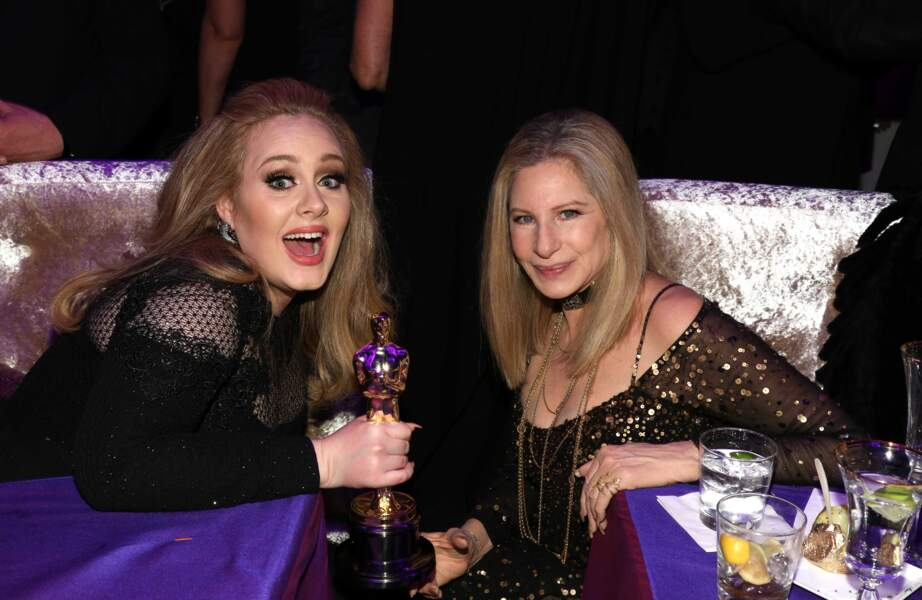 Petite photo souvenir à cette occasion avec Barbara Streisand.