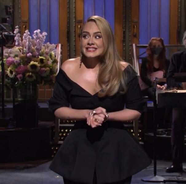 Dernière apparition médiatique : Adele était hilarante à la tête du Saturday Night Live en octobre 2020.
