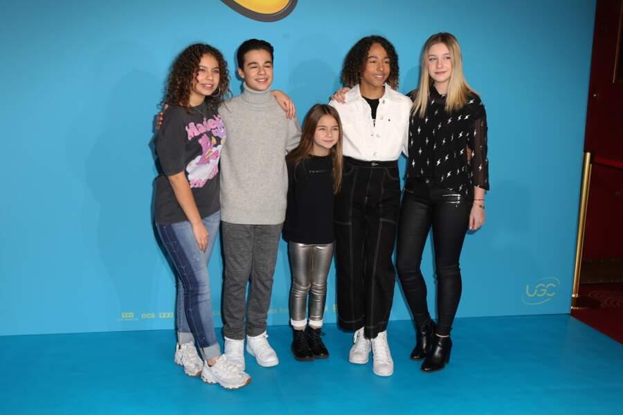 Gloria a continué l'aventure avec Ilyana, Nathan, Valentina et Dylan dans les Kids United Nouvelle Génération