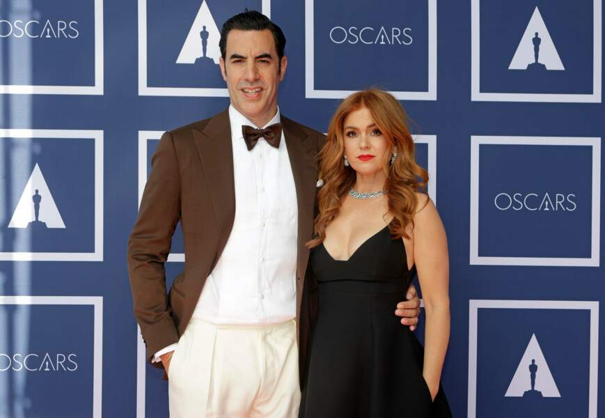 Sacha Baron Cohen et sa femme Isla Fisher