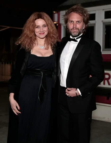 Florian Zeller et Marine Delterme suivaient la soirée depuis Paris
