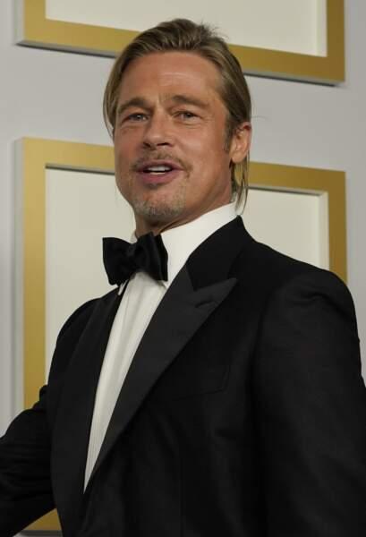 Brad Pitt, venu remettre l'Oscar de la meilleure actrice dans un second rôle