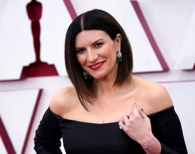 La chanteuse Laura Pausini, nommée à l'Oscar de la meilleure chanson de film