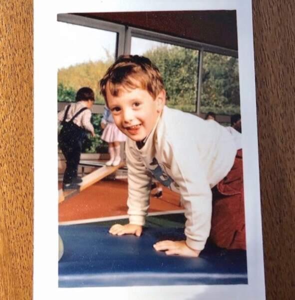 On y a vu des enfants mignons, comme Vincent Cerruti il y a quelques années maintenant.