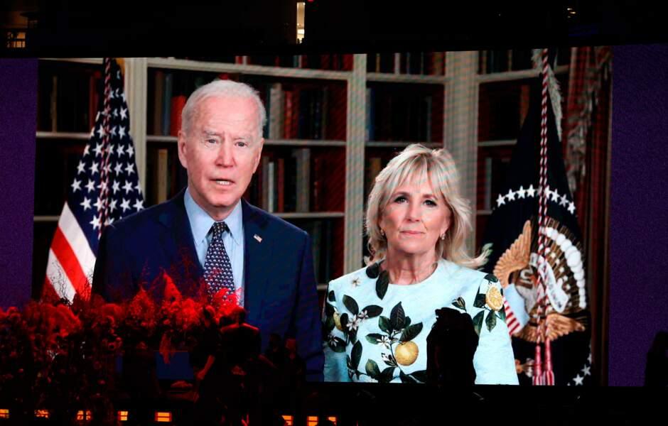 Le président des Etats-Unis Joe Biden et la Première dame Jill Biden.