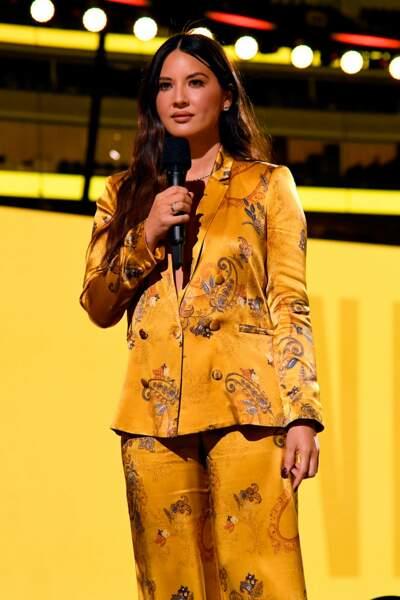 Autre star présente : l'actrice Olivia Munn, de la team X-Men.