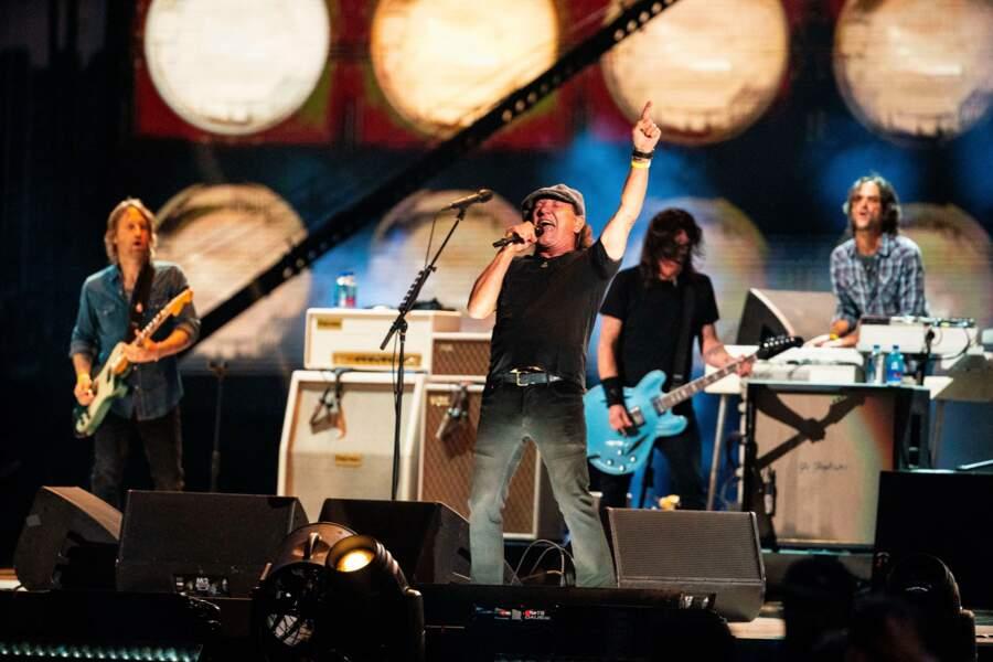 Les Foo Fighters et Brian Johnson d'AC/DC pour un peu de rock'n'roll.