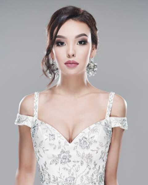 Miss Kazakhstan, Kamilla Serikbay
