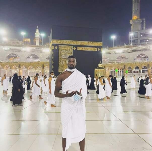 Et là, c'est papa M'baye Niang à La Mecque. Bonne fête !