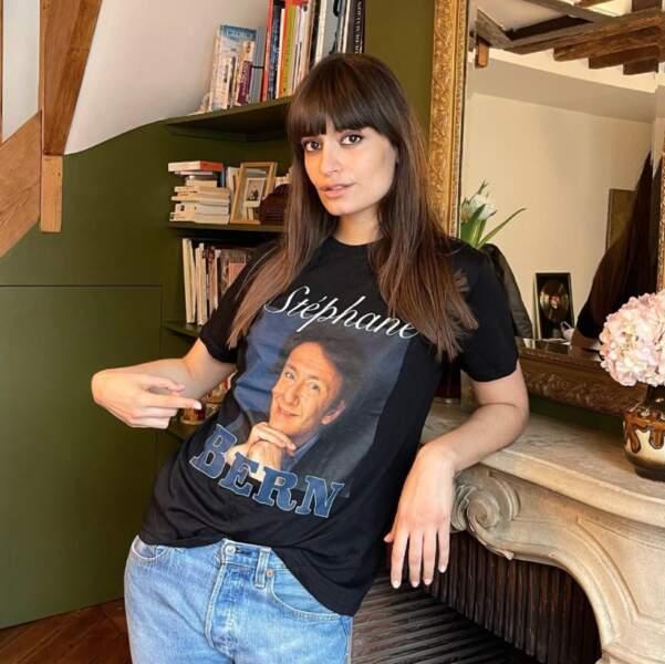 """En parlant de mode, Clara Luciani a reçu un précieux cadeau de Julien Doré à la gloire de son """"idole"""", Stéphane Bern."""