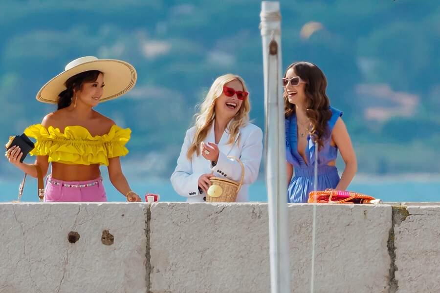 Dans la saison 2 d'Emily in Paris, l'héroïne s'offre une virée dans le sud de la France. Ses copines Mindy et Camille sont de la partie