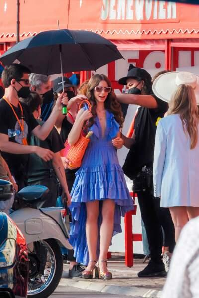 Bienvenue à Saint-Tropez où se déroule une partie du tournage de la série de Netflix Emily in Paris