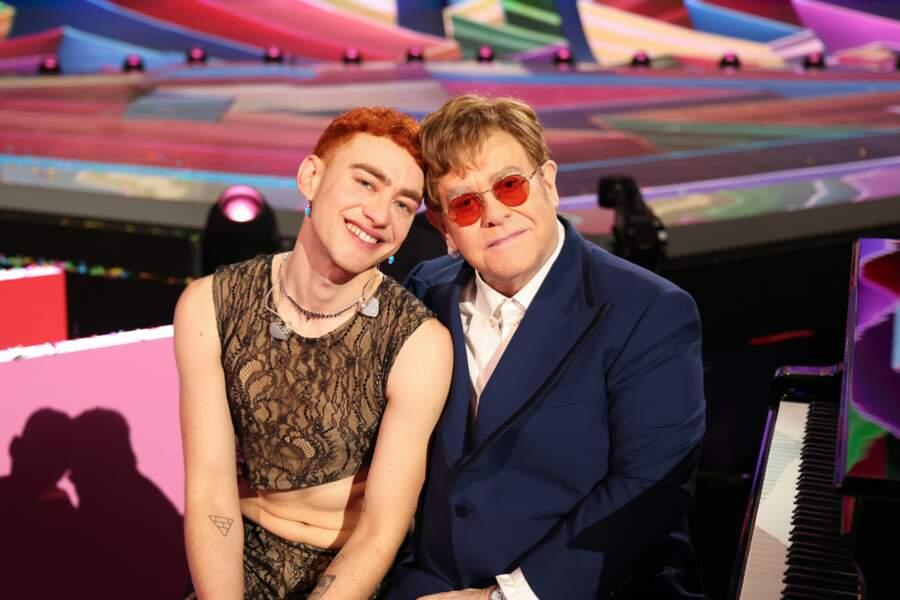 Elton John et Olly Alexander de Years and Years.