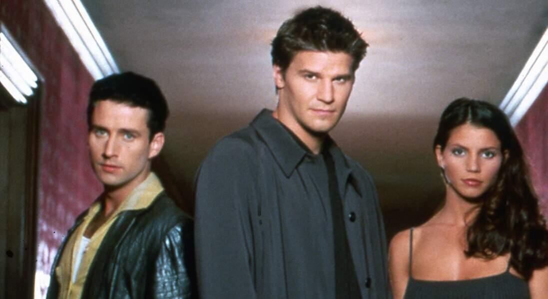 Angel, la série dérivée de Buffy contre les vampires, fait ses débuts en 1999. Au début, ils étaient trois héros : Angel, Cordelia et Doyle !