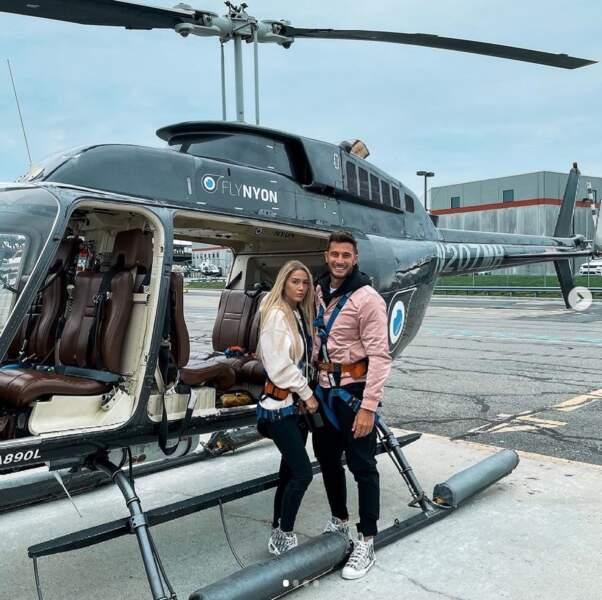 Nacca réalise un de ses rêves en survolant New York en hélicoptère