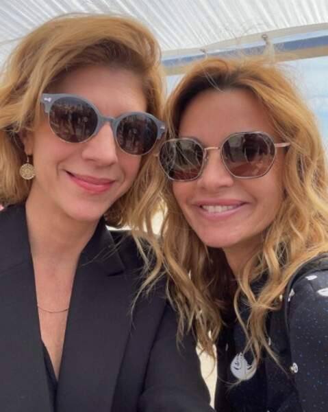 Selfie lunettes de soleil pour Juliette Tresanini et Ingrid Chauvin.