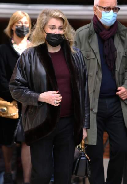Catherine Deneuve était une amie proche du comédien et homme d'affaires Jean-Yves Bouvier