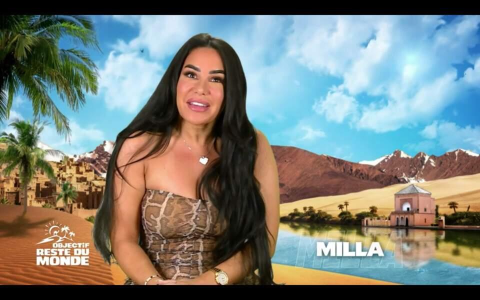 Célèbre influenceuse et candidate emblématique du Reste du Monde, on ne présente plus Milla Jasmine
