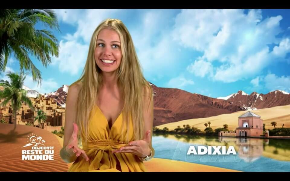 Ch'ti, Marseillaise et maintenant membre du Reste du Monde, Adixia est une des stars de la télé-réalité en France