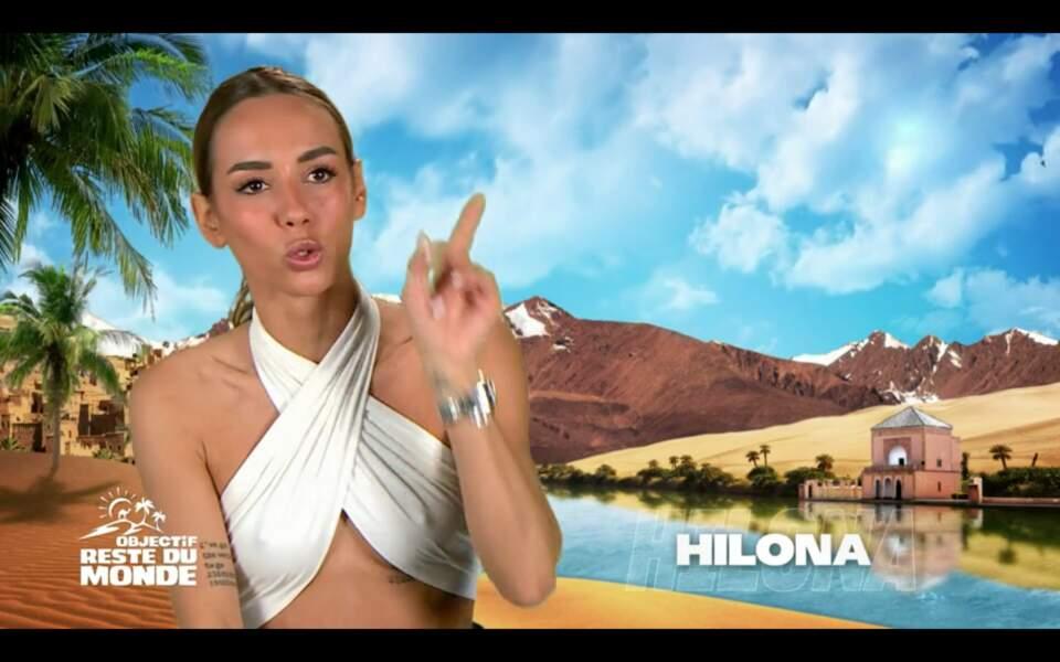 Dans Objectif Reste du Monde, Hilona va devoir régler ses problèmes avec Julien Bert. Pas gagné...