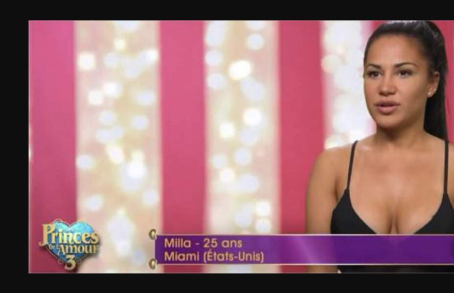 C'est en 2015 dans Les Princes de l'amour 3 que le public découvre Milla Jasmine. Depuis la jeune femme est devenue l'une des candidates les plus influentes de la télé-réalité