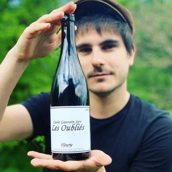 Avec une petite bouteille au nom de l'ami Gauvain Sers ! Avec modération évidemment.
