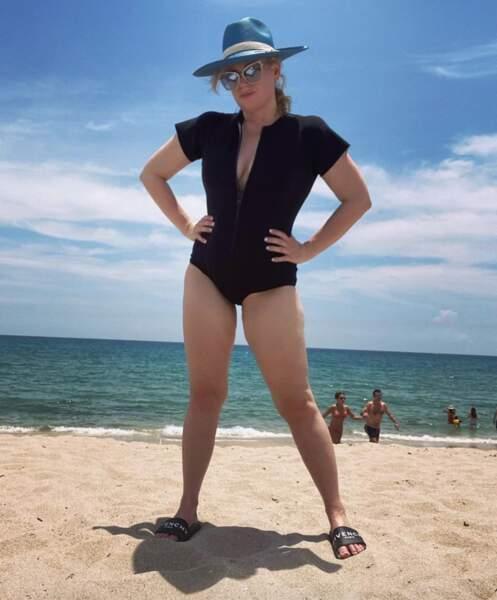 Tout comme l'actrice Rebel Wilson, très fière de sa nouvelle silhouette.