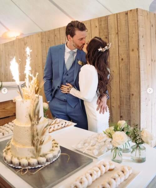 Souvenir de mariage pour Gaëlle Garcia Diaz et Daan de Pever.