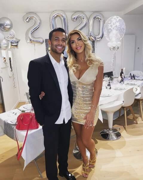 Sarah Dossevi et son mari Matthieu Dossevi, milieu du club turc Denizlispor