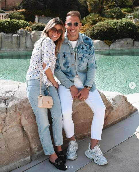 Cindy Lecomte et son mari, le gardien de l'AS Monaco, Benjamin Lecomte