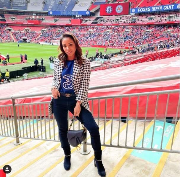 Isabelle Silva est la plus fidèle supportrice de son mari Thiago