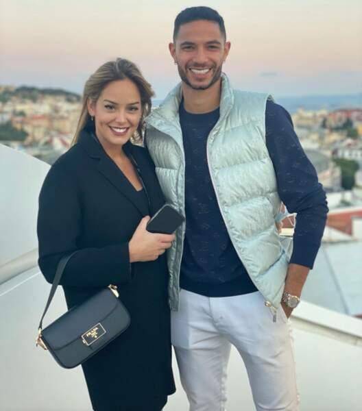 Joana Mendes et son mari Pedro Mendes, joueur de Montpellier et international portugais