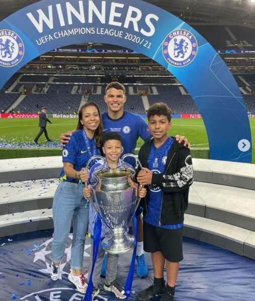 La famille Silva ravie après la victoire de Thiago en finale de la Ligue des Champions