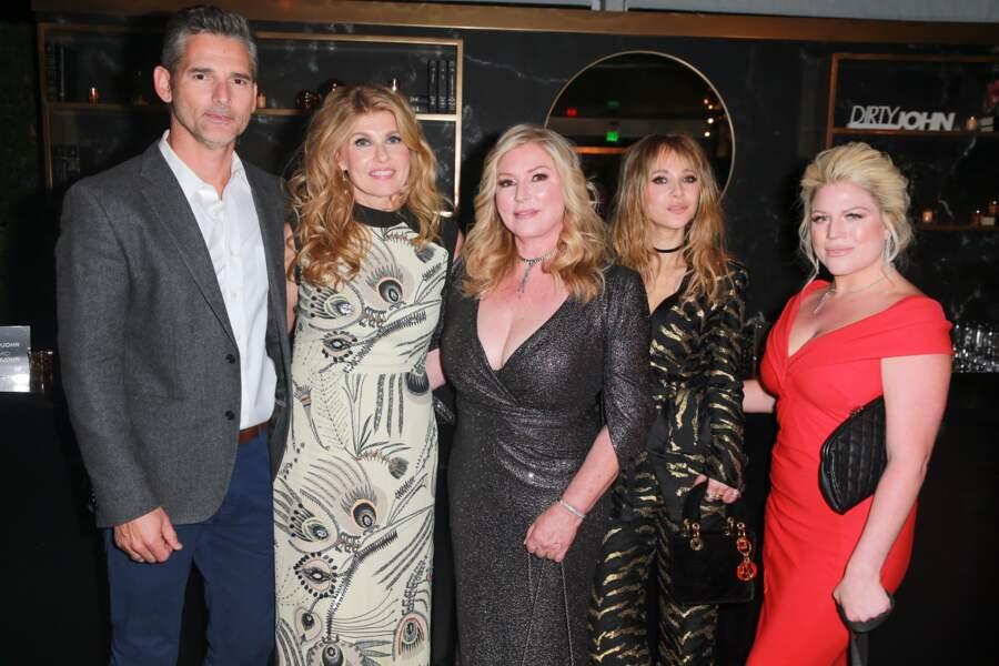 Eric Bana, Connie Britton, Juno Temple ont pu échanger avec les vraies protagonistes de l'affaire, Debra Newell et sa fille Terra pour préparer leurs rôles.