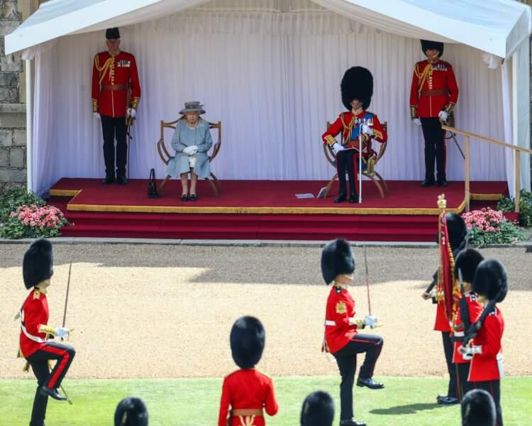 Elizabeth II a choisi d'inviter son cousin Edward, le duc de Kent.