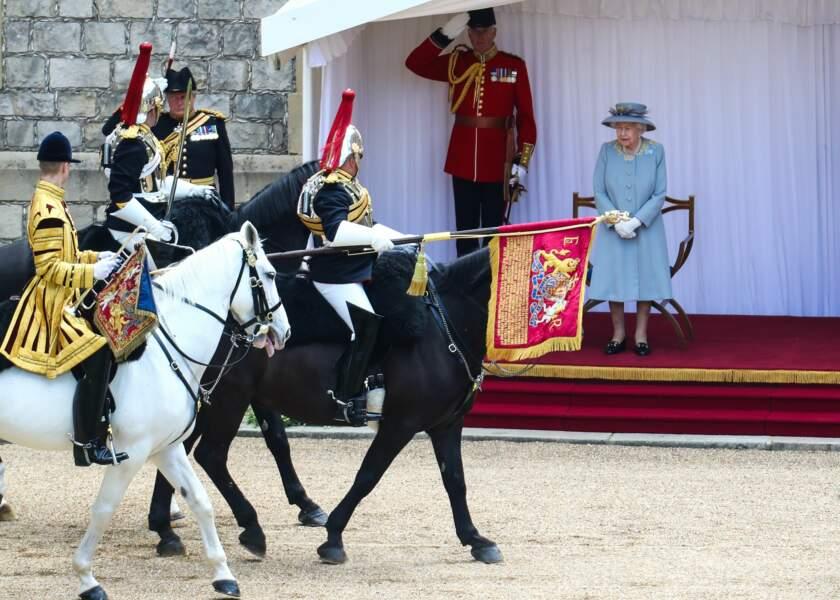 La cérémonie s'est déroulée au château de Windsor.