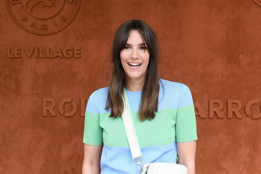 Charlotte Gabris à Roland-Garros, samedi 12 juin