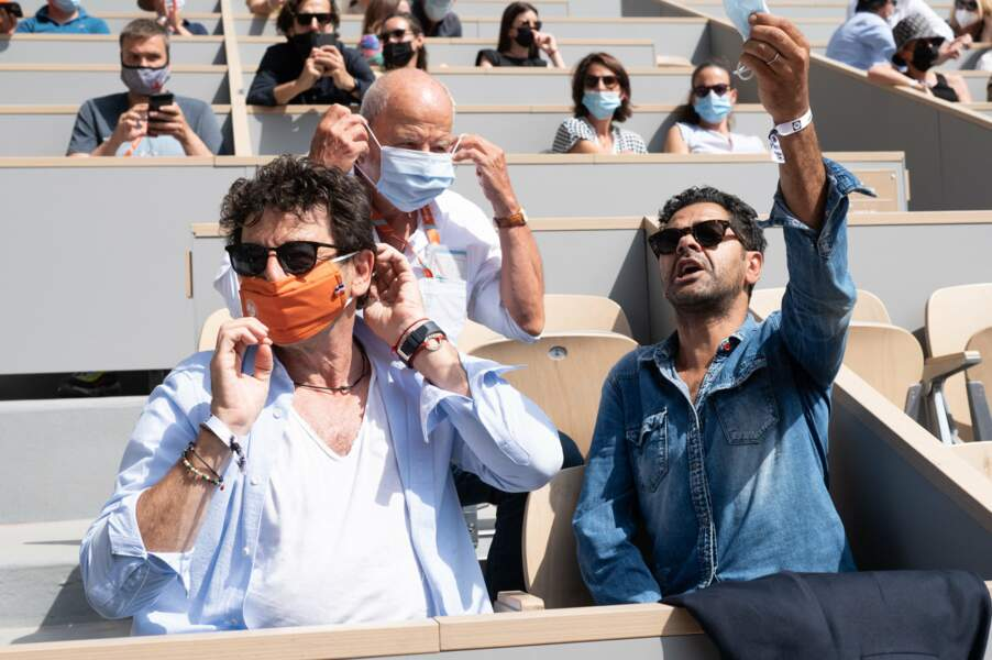 Jamel Debbouze et Patrick Bruel sont deux grands fans de sports