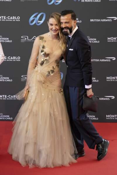 Deborah Francois et Julien Fournie.