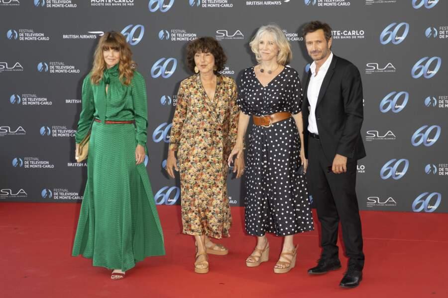 Gwendoline Hamon (à gauche) et Alexandre Varga (à droite) étaient présents.
